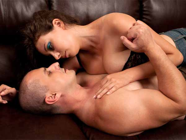 Couples Love Cowboy Girl Position